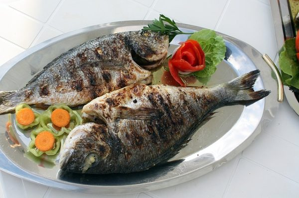 Ryba na talíři